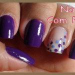 Nails da semana com Poas