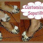 Customizando Sapatilhas