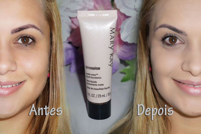 Resenha / Base Matte Mary Kay