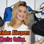 Comprinhas Aliexpress e Marisa Online.
