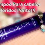 Shampoo Para Cabelos Coloridos Ponto9