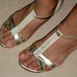 Customizando Sandalia Rasteira