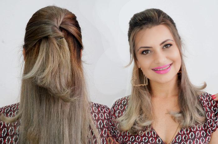 3 Penteados Simples Para Bad hair Day