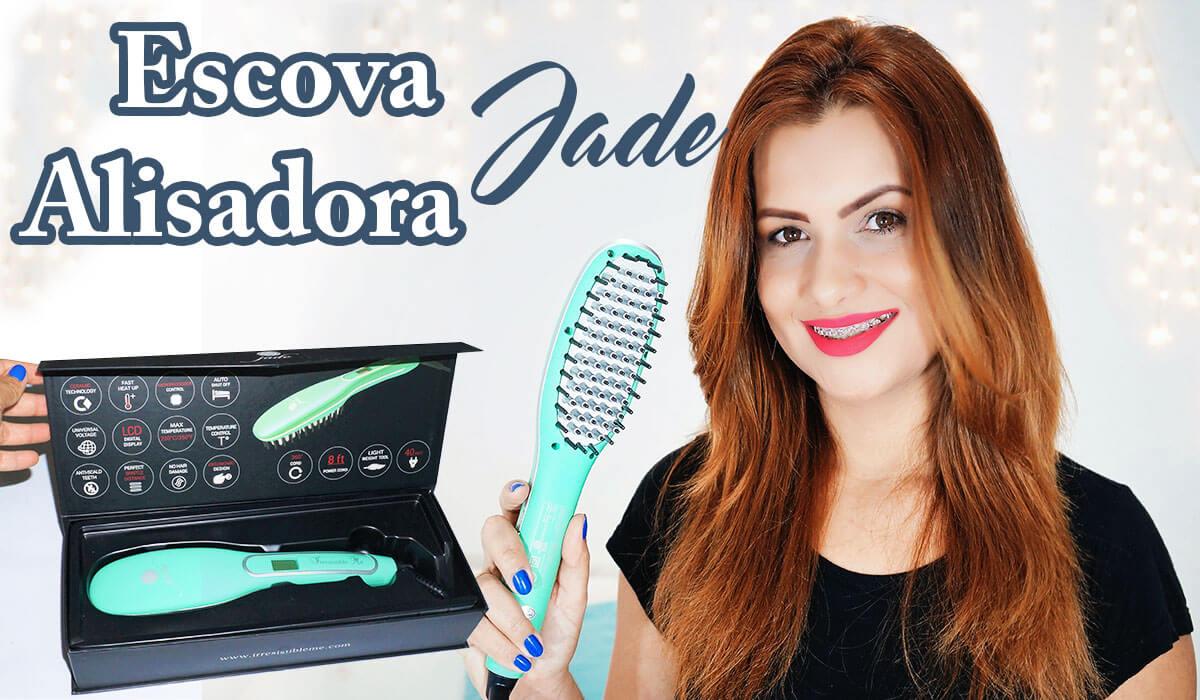 Escova Alisadora Jade Irresistibleme Hair