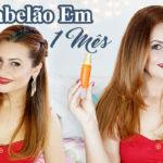 Bomba De Crescimento Capilar Tônico de Cenoura e Gengibre #cabelãoem1mês