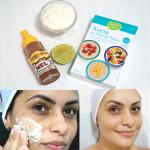 Mascara Clareadora Caseira de Iogurte Para o Rosto